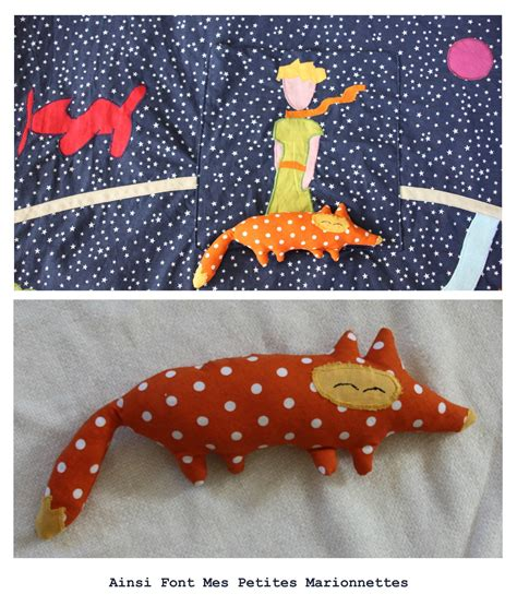ma cabane et le petit prince ainsi font mes petites marionnettes