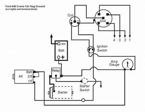 Ford Jubilee Wiring Diagram