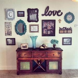 Best ideas about wall collage on hallway