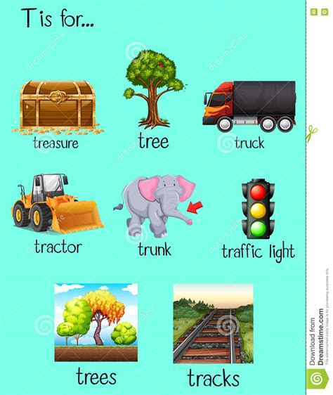 words with letter t t words clipart 25759 | t words clipart 8