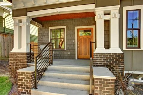 craftsman style porch giving a neglected craftsman bungalow new curb appeal