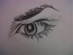 Angry Eyes Drawing
