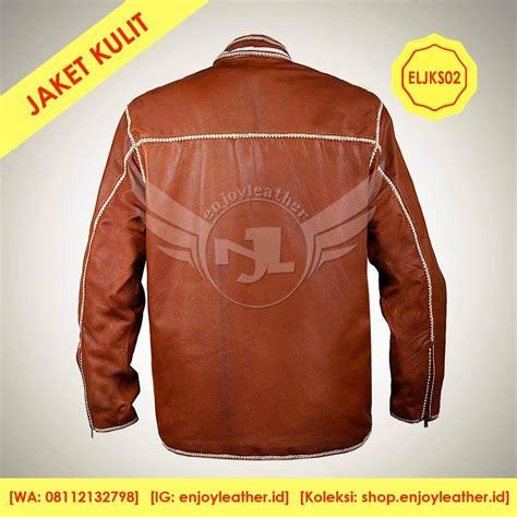 jaket kulit sulam terbaru asli garut gaya anak muda model