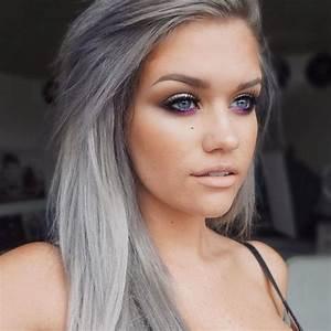 Graue Haare Farben Frauen Moderne Mnnliche Und
