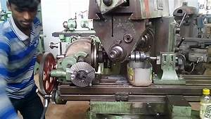 Helical Gear Cutting On Miling Machine For Horizontal