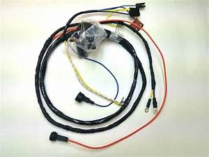 1968 68 Chevelle El Camino Engine Wiring Harness Warning