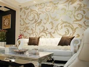 Living Room Wallpaper Ideas, How You Living Room Walls ...