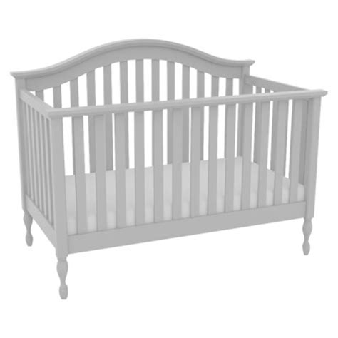white crib target lolly me bailey 4 in 1 convertible crib white