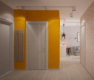 colour blocking creating room in small spaces With couleur pour couloir sombre 2 modern pop art style apartment