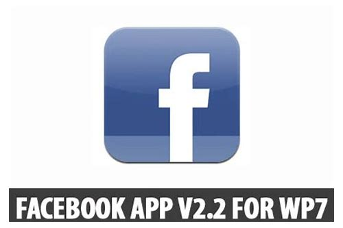 facebook download to windows phone