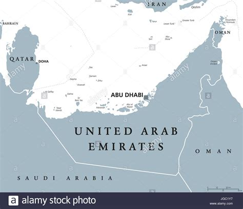 united arab emirates map stockfotos united arab emirates