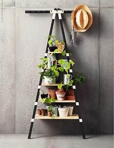 Echelle Etagere Ikea : 10 ikea hacks faciles et jolis pour rehausser votre terrasse ~ Teatrodelosmanantiales.com Idées de Décoration