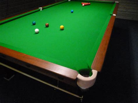 how many feet is a pool table scotland gcl billiards