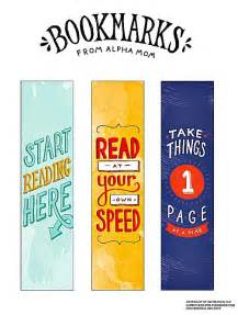free bookmarks printables to celebrate d e a r day