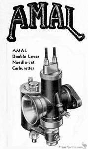 Amal Carburettor 1936