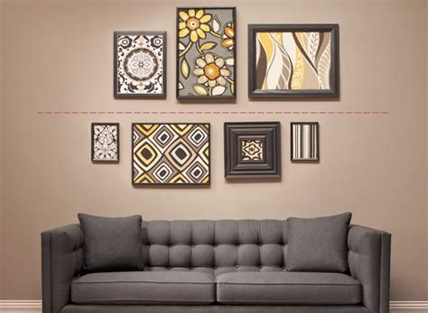 raymour and flanigan wall how to diy hang and arrange wall the of 7630
