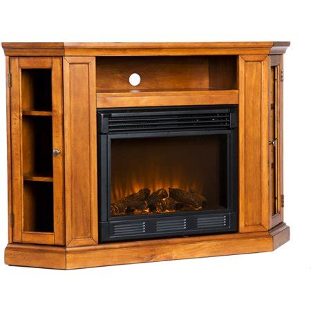 electric fireplaces at walmart silverado electric fireplace media console glazed pine