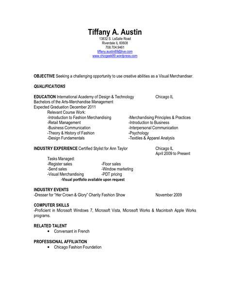 visual merchandiser description for resume cv template visual merchandiser http webdesign14