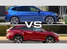 2018 BMW X3 vs 2016 Lexus RX YouTube