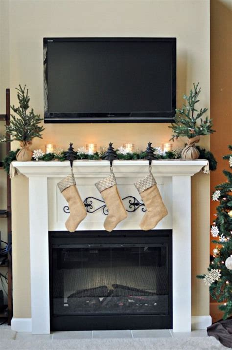decorating fireplace mantel with tv above easy mantels fireplaces fireplace