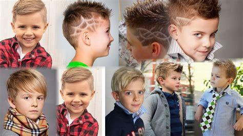 Модные детские стрижки для мальчиков в 2020 фото новинки тенденции Уход за волосами