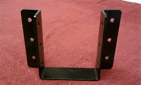 Black Decorative Joist Hangers by Gv Wood Products Beams And Hangers