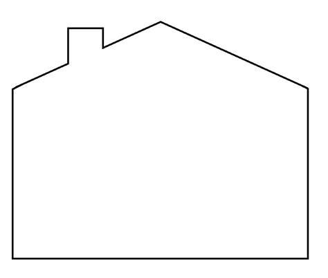 House Template House Template Clipart Best