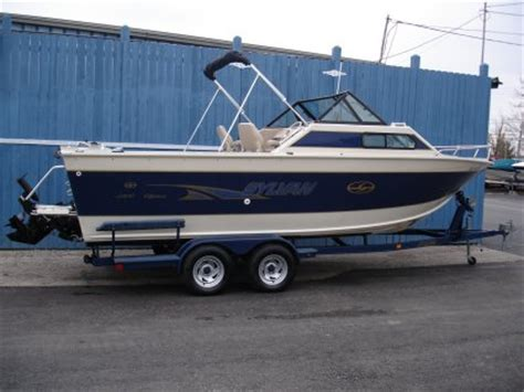 Sylvan Aluminum Boat Reviews by 1999 Sylvan 2300 Offshore 23 Aluminum Fishing Used