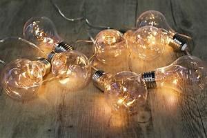 Guirlande Lumineuse Ampoule : guirlande lumineuse ampoules ~ Teatrodelosmanantiales.com Idées de Décoration