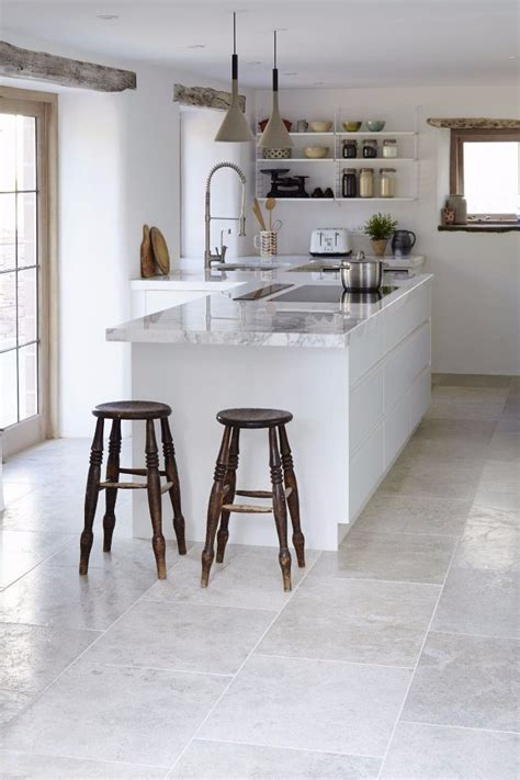 grey tiles white kitchen 18 beautiful exles of kitchen floor tile 4094
