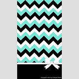 Teal And White Chevron Wall | 640 x 1136 jpeg 66kB