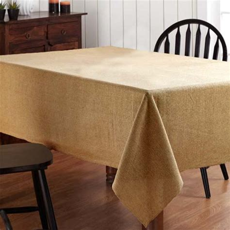 Tisch Mit Tischdecke by Your Tablecloth Store For Burlap Tablecloth 84 X 84