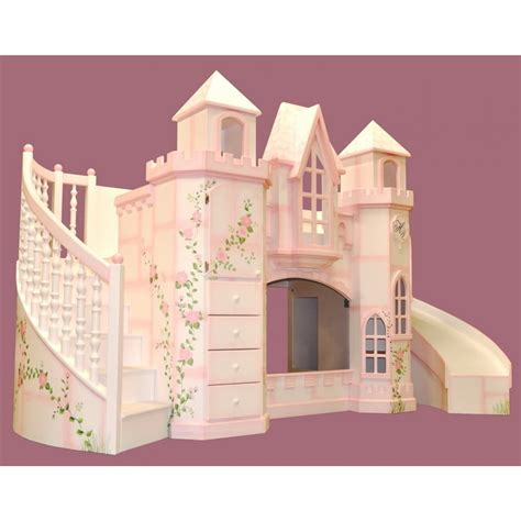 furniture brown wooden bunk bed with desk underneath wonderful house shaped loft bed with staircase and
