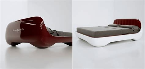 futuristic bed futuristic avantgarde bed design is reminiscent to vintage sports cars