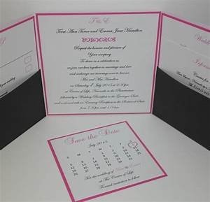 handmade wedding invitations wedding stationery With landscape pocket wedding invitations