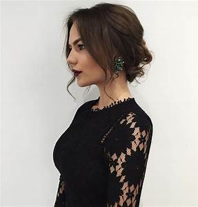 Darya Zozulya Loose Messy Updo https://instagram com/p/9XSE AzDnG/ nya tider, nytt hår