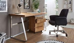 Mobilier Bois Design : bureau design en bois massif pour bureau ~ Melissatoandfro.com Idées de Décoration
