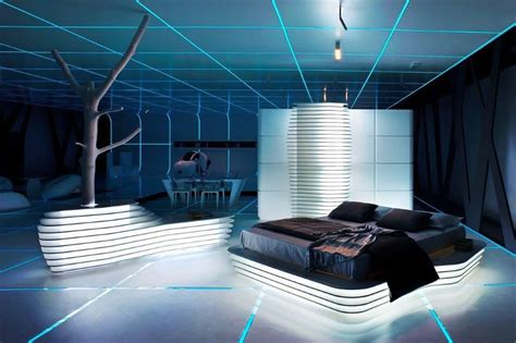 cool home interior designs 10 futuristic bedroom design ideas