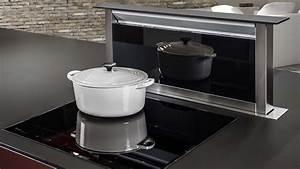 attrayant hotte cuisine ilot central 7 nos conseils With bien choisir sa hotte de cuisine