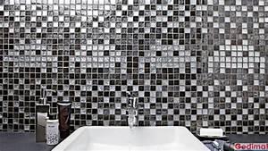 Carrelage Adhesif Mural Salle De Bain : ambiances carrelage salle de bains les ambiances gedimat ~ Zukunftsfamilie.com Idées de Décoration