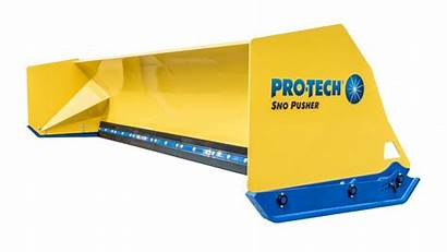 Edge Fusion Pusher Sno Rubber Steel Pro