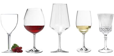 Unbreakable Wine Glasses, Acrylic Wine Glasses