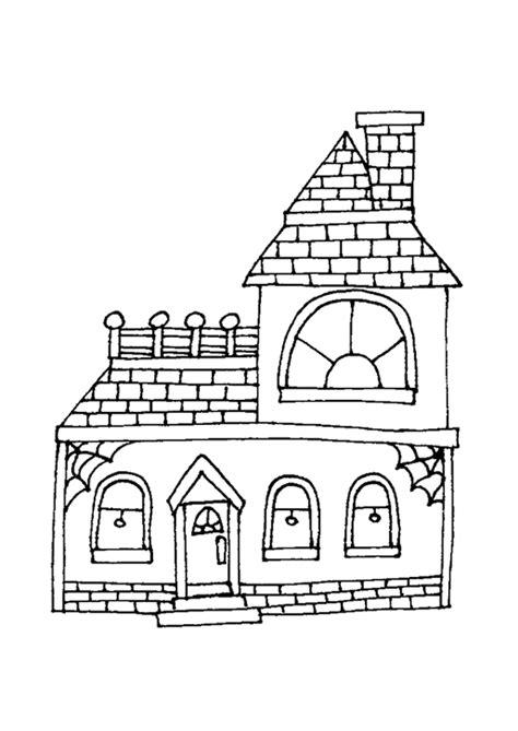 Huizen Kleurplaat by Kleurplaat Huis 7691 Kleurplaten