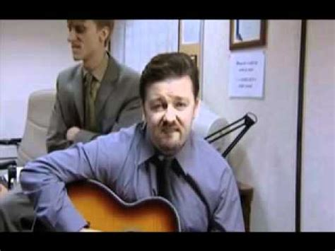 office uk closing credits david brent version