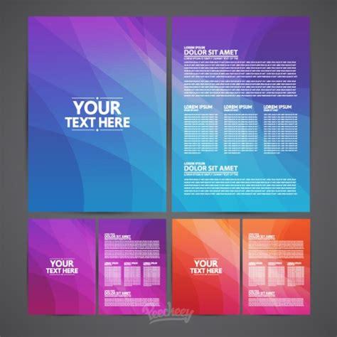 brochures template  vector  adobe illustrator ai