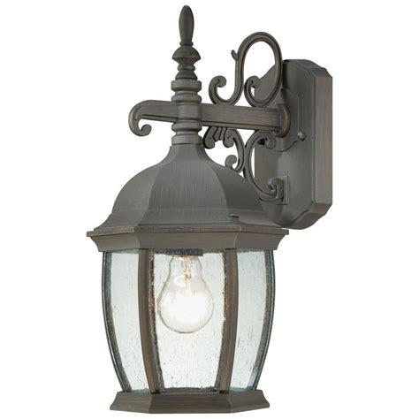 lighting covington 1 light painted bronze outdoor