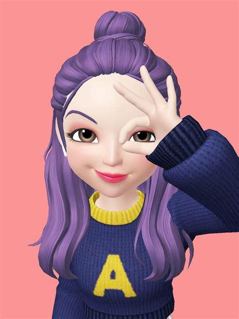 zepeto selfie edit oufit model photo kartun