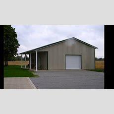 Usa Pole Barns Residential Barns Youtube