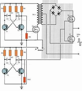 Making A 200 Watt Compact Pwm Inverter Circuit