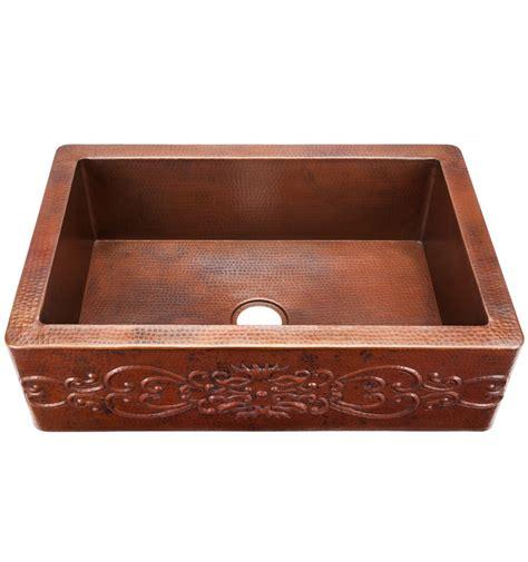 copper kitchen sinks custom toscana black copper kitchen sink
